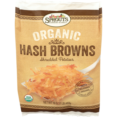 Sprouts Organic Hash Potatoes