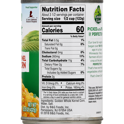 Green Giant Whole Kernel Sweet Corn