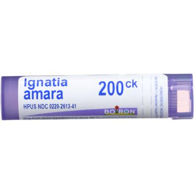 Boiron Ignatia Amara 200CK, Homeopathic Medicine for Stress