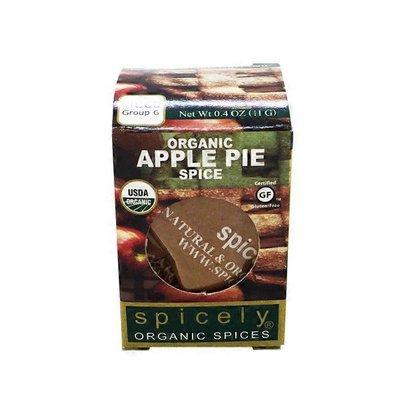 Spicely Organics Organic Apple Pie Spice
