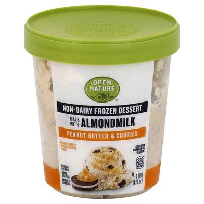 Open Nature Peanut Butter & Cookies Almond Non-dairy Frozen Dessert