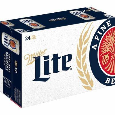 Miller Lite Beer, Cans