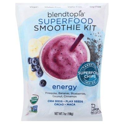 Blendtopia Smoothie Kit, Superfood, Energy