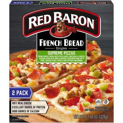 Red Baron French Bread Singles Supreme Pizzas