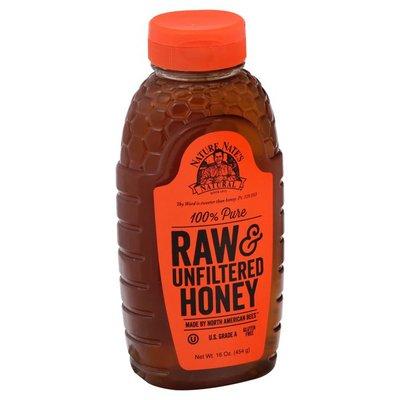 Nature Nates Honey, Raw & Unfiltered