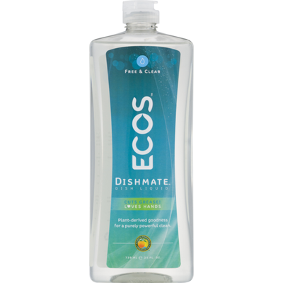 Ecos Dishmate Dish Liquid Free & Clear