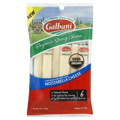 Galbani String Cheese, Organic, Mozzarella