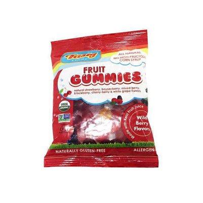 Tasty Brand Organic Wild Berry Fruit Gummies