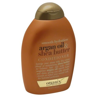 OGX Conditioner, Argan Oil & Shea Butter, Smooth Hydration