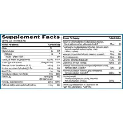 Emergen-C Calcium Magnesium Mineral Supplement