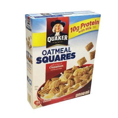 Quaker Cinnamon Oatmeal Squares Cereal