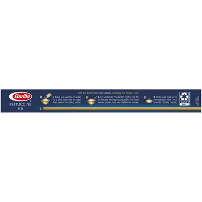 Barilla® Classic Blue Box Pasta Fettuccine