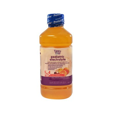 Tippy Toes Electrolyte Solution, Mixed Fruit