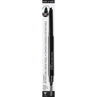 wet n wild Ultimatebrow Retractable Brow Pencil, 628A Dark Brown