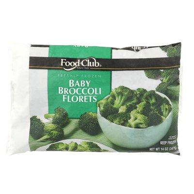 Food Club Freshly Frozen Baby Broccoli Florets