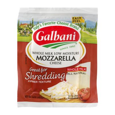 Galbani Galbani Whole Milk Low Moisture Mozzarella Cheese