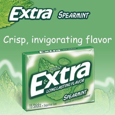 Extra Spearmint Sugar Free Chewing Gum