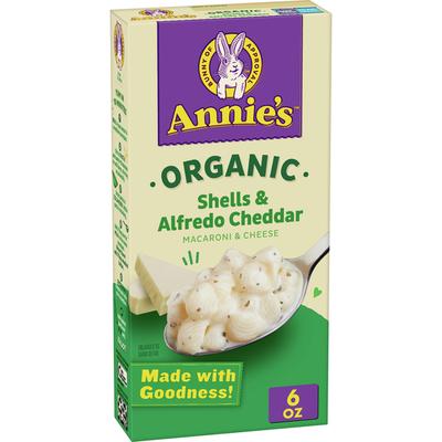 Annie's Organic Alfredo Shells & Cheddar Macaroni and Cheese