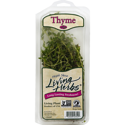 Living Herbs Herb Thyme Clamshell