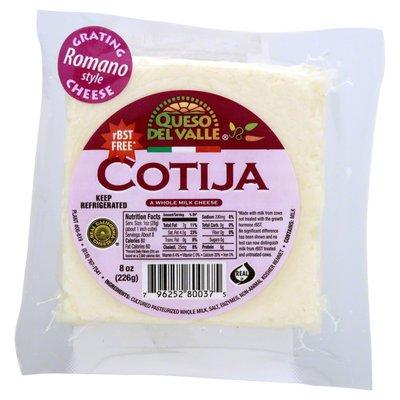 Queso Del Valle Cotija