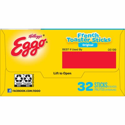 Eggo Frozen French Toast Sticks, Frozen Breakfast, All Day Kids Snacks, Original