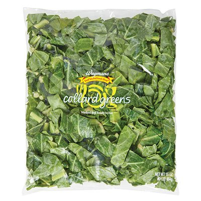 Wegmans Food You Feel Good About Cleaned and Cut Collard Greens
