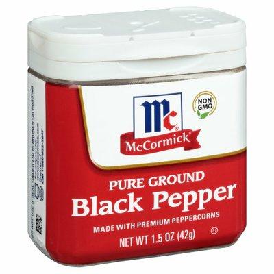 McCormick® Ground Pepper Black