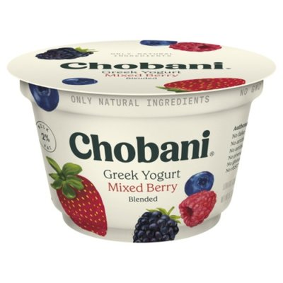 Chobani Yogurt, Low-Fat, Mixed Berry, Greek
