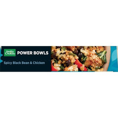 Healthy Choice Power Bowls Spicy Black Bean And Chicken