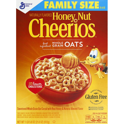 Cheerios Cereal, Family Size