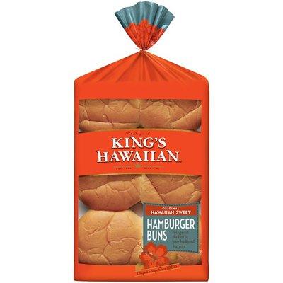 King's Hawaiian Original Hawaiian Sweet Hamburger Buns