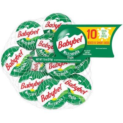 Babybel Mozzarella Style Reduced Fat Semisoft Cheeses