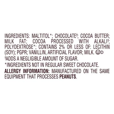 Hershey's Chocolates, Sugar Free, Mildly Sweet, Special Dark