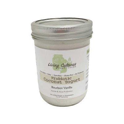 Living Cultures Bourbon Vanilla Coconut Yogurt