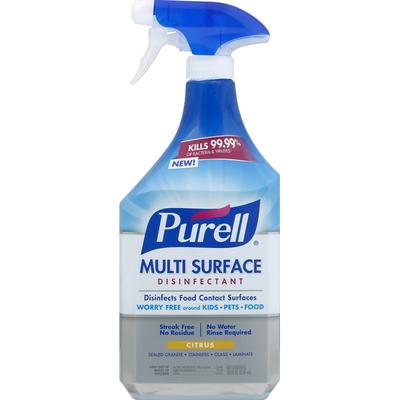 Purell Multi Surface Disinfectant Citrus