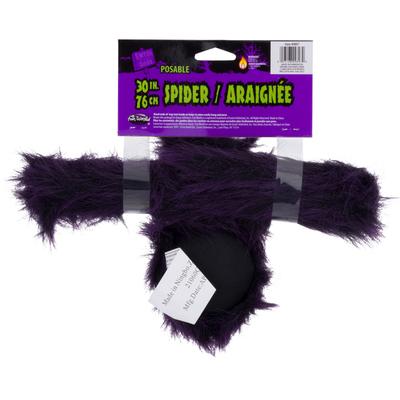 Fun World Posable Spider, 30 Inch