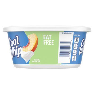 Cool Whip Fat Free Whipped Topping