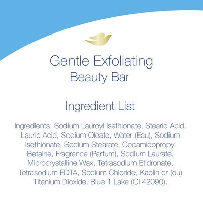 Dove Beauty Bar Gentle Exfoliating With Mild Cleanser