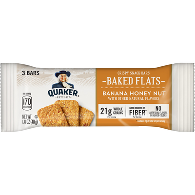 Quaker Snack Bars, Banana Honey Nut