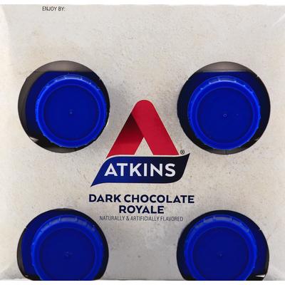 Atkins Protein-Rich Shake, Dark Chocolate Royale