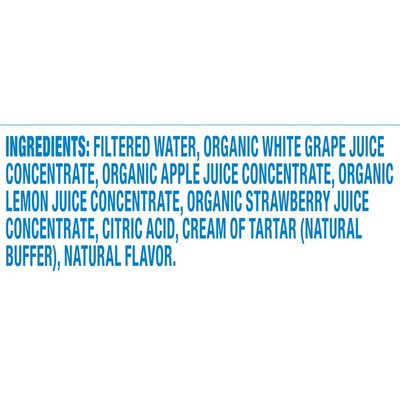 Capri Sun Strawberry Lemonade Naturally Flavored Juice Drink Blend