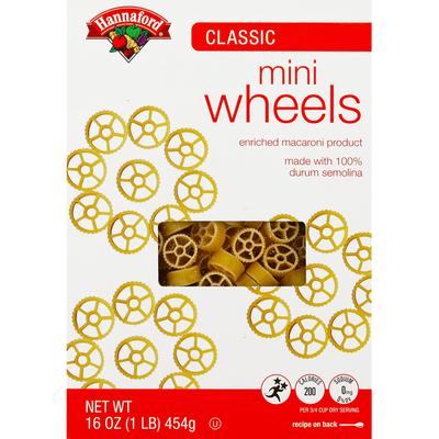 Hannaford Mini Wheels Pasta