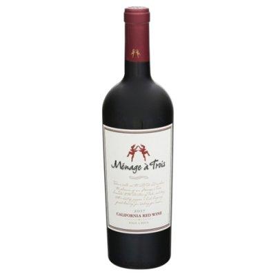 Menage a trois Red Wine, California, 2007