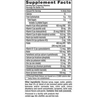 VitaFusion Women's Gummy Vitamins Dietary Supplement Gummies