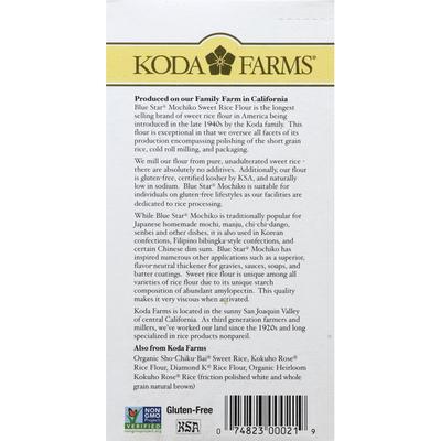 Koda Farms Mochiko Rice Flour