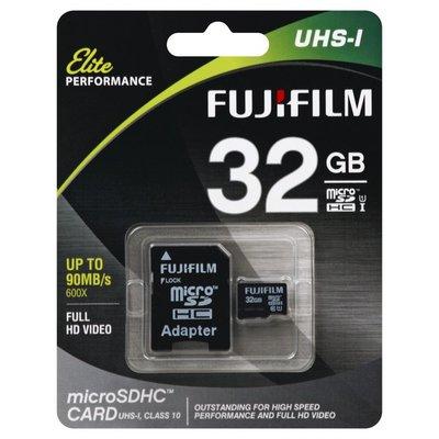 Fujifilm MicroSDHC Card, UHS-I, 32 gb