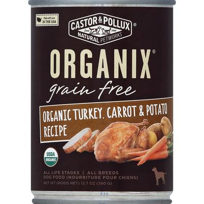 Organix Dog Food. Adult, Turkey, Carrot & Potato Formula