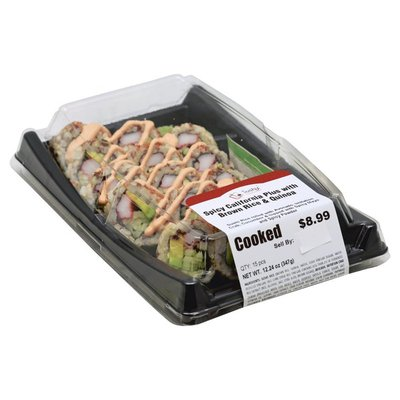 Sushic Spicy California, with Brown Rice & Quinoa