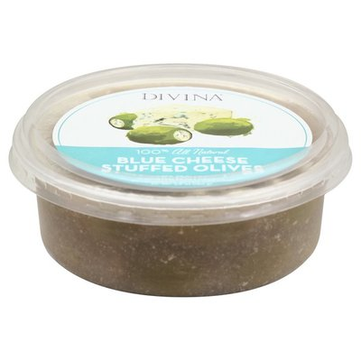 Divina Olives, Stuffed, Blue Cheese