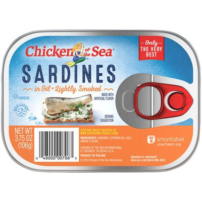 Chicken of the Sea Smoked in Oil Sardines